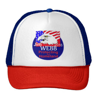 Jim WEBB Trucker Hat