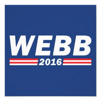 Jim Webb, Webb 2016 Photograph