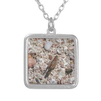 Jiminy Cricket Silver Plated Necklace