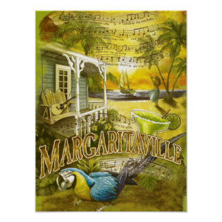 jimmy buffett lyrics poster