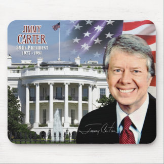 Jimmy Carter -  39th President of the U.S. Mouse Pad