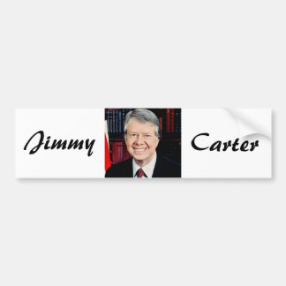 Jimmy Carter 39th US President Bumper Sticker