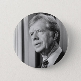 Jimmy Carter 6 Cm Round Badge