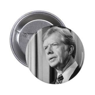 Jimmy Carter 6 Cm Round Badge