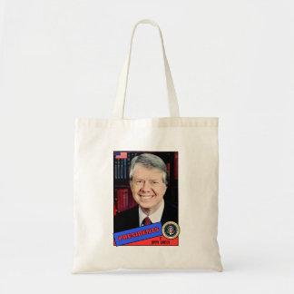 Jimmy Carter Baseball Card Bag