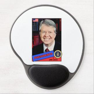 Jimmy Carter Baseball Card Gel Mouse Mats