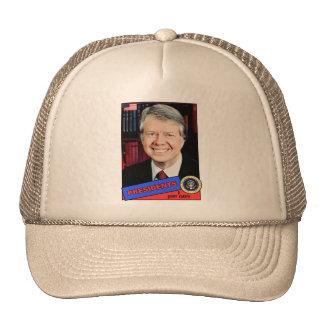 Jimmy Carter Baseball Card Hats