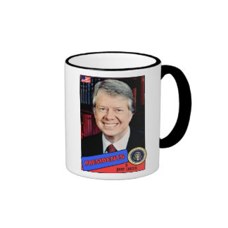 Jimmy Carter Baseball Card Coffee Mug