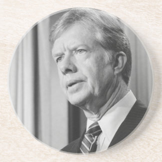 Jimmy Carter Beverage Coasters