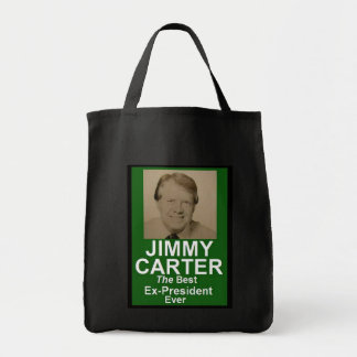JIMMY CARTER GROCERY TOTE BAG