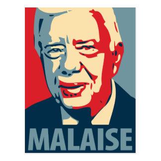 Jimmy Carter - Malaise: OHP Postcard