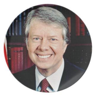 Jimmy Carter Plates