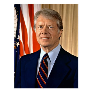 Jimmy Carter Postcard