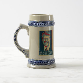 Jimmy Carter Racism Czar Beer Stein Mugs