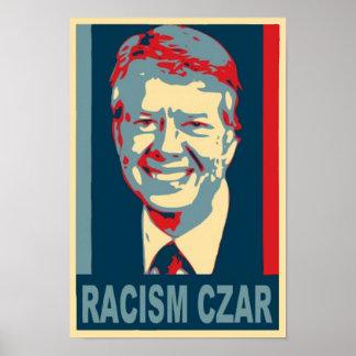 Jimmy Carter Racism Czar Poster