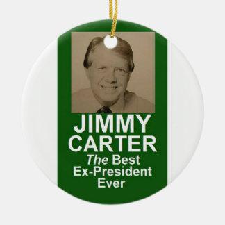 JIMMY CARTER ROUND CERAMIC DECORATION