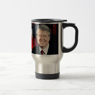 Jimmy Carter Stainless Steel Travel Mug
