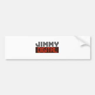 Jimmy Digital Bumper Sticker