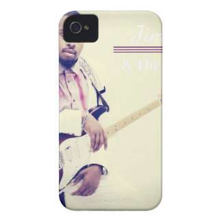 Jimmy Electric Guitar Tee iPhone 4 Case-Mate Case