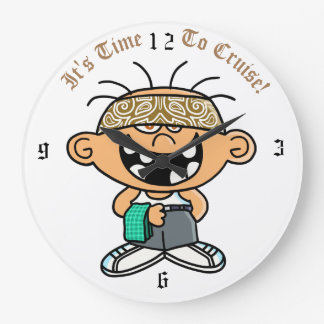 Jimmy Lowrider Clock