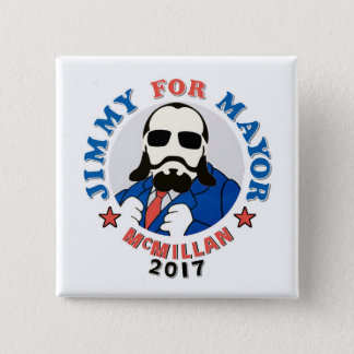 Jimmy McMillan 2017 15 Cm Square Badge