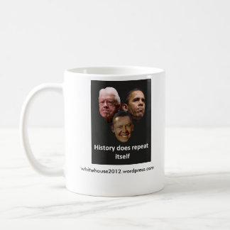 Jimmy Obama / Barack Carter Basic White Mug