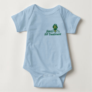 Jim's IVF Treatment Baby Bodysuit