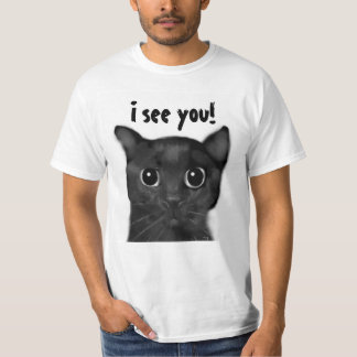Jin-Jin Black Cat Shirt
