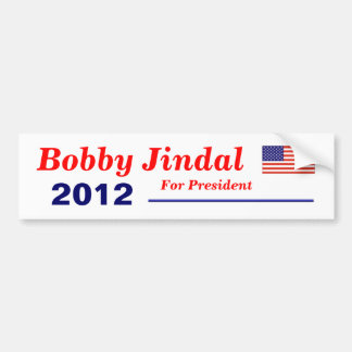 Jindal for President Bumper Sticker