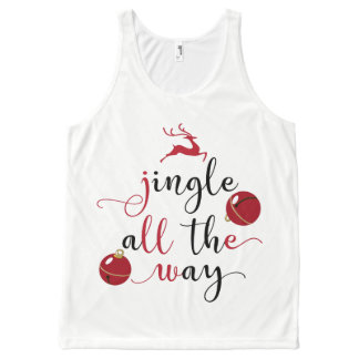 jingle all the way All-Over print singlet
