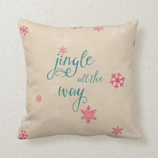 Jingle all the way cushion