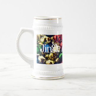 Jingle All the Way Multi-Color Bells Stein Beer Steins