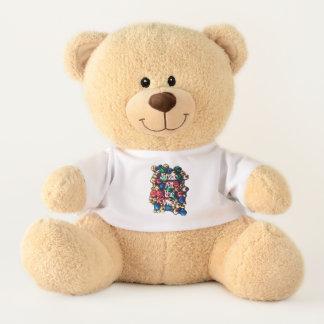 Jingle All the Way Multi-Colour Medium Teddy Bear