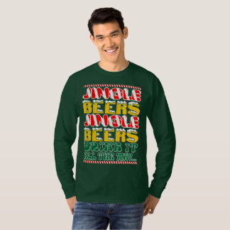 Jingle Beers Jingle Beers Drink It All The Way T-Shirt