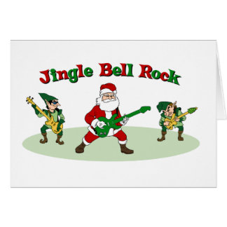 Jingle Bell Rock card