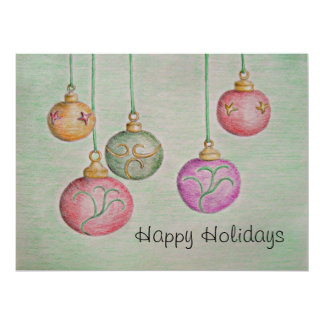 Jingle Bells 17 Cm X 22 Cm Invitation Card