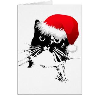 """""""Jingle Bells"""" Cat Christmas Card"""