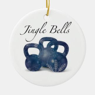 Jingle 'Bells Ceramic Ornament