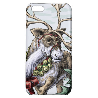 """""""Jingle Bells"""" Christmas Holiday Case For iPhone 5C"""