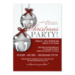 Jingle Bells Christmas Party 13 Cm X 18 Cm Invitation Card
