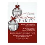 Jingle Bells Christmas Party 13 Cm X 18 Cm Invitation Card