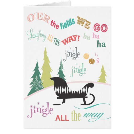 Jingle Bells | Holiday Greeting Cards
