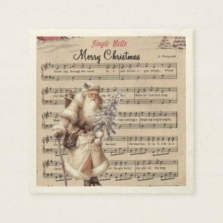jingle bells paper napkins disposable napkin