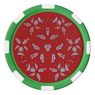 Jingle Bells Poker Chips
