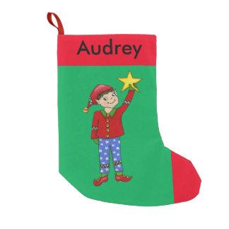 """Jingle Elves, """"McNaughty"""" Christmas Stocking"""