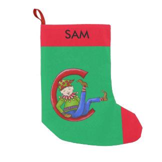 "Jingle Elves, ""Sam"" Christmas Stocking"
