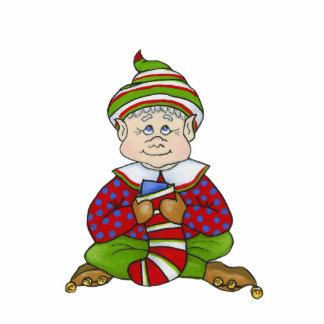 """Jingle Elves, """"Stitch"""" 5X7 Ornament Photo Sculpture Decoration"""