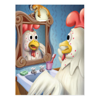 Jingle Jingle Little Gnome Chickenpox Postcard