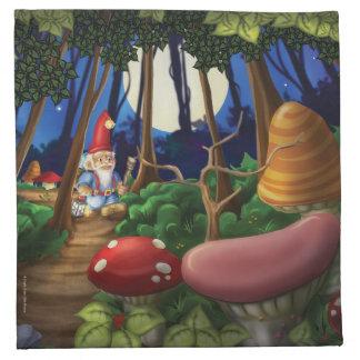 Jingle Jingle Little Gnome Cloth Napkin Set