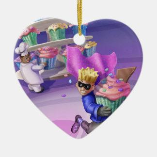 Jingle Jingle Little Gnome Cupcake Caper Ornament